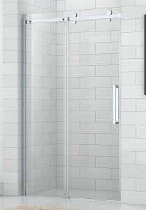 4000714 Душевая дверь SaniPro OBZD2/1400, 140 х 195 см