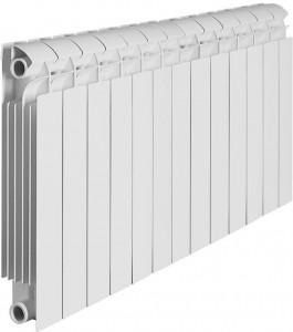 Радиатор биметаллический Global Style Plus 350 13 секций