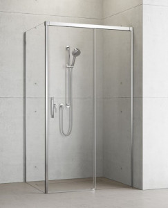 387040-01-01R/387050-01-01L Душевой уголок Radaway Idea KDJ 100 x 90 правый, стекло прозрачное