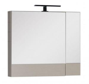 Зеркало-шкаф Aquanet Нота 75 (камерино) 00158857, цвет светлый дуб