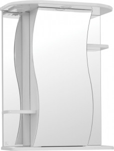Зеркало-шкаф Style Line Эко Волна Лилия 55/С белый