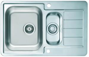 1085951 Мойка кухонная Alveus LINE MAXIM 70 LEI-90 790 x 500