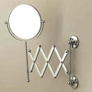 Настенное косметическое зеркало Devon&Devon Cavendish WM22, светлое золото