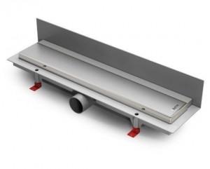 ALP-350KN3 Душевой водоотводящий желоб с рамкой Alpen Klasic/Floor пристенный, хром матовый