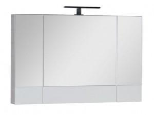 Зеркало-шкаф Aquanet Нота 100 (камерино) 00165372, цвет белый