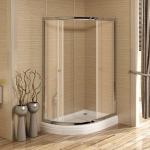 1-03-2-1-0-0111 Душевой уголок Radomir 120 х 90 х 216 см, стекло прозрачное/матовое