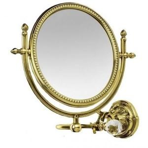 AM-2109-Do-Ant Увеличительное зеркало подвесное ,античное золото