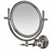 AM-2109-Cr-C  Увеличительное зеркало подвесное ,хром
