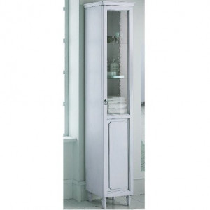 Пенал Eurodesign Luigi XVI LXI-09, Bianco Satinato/белый матовый