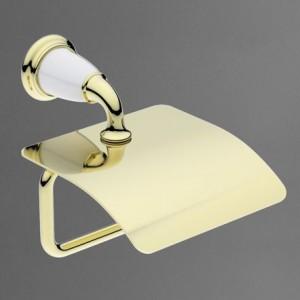 AM-E-3683AW-Do Держатель туалетной бумаги настенный,золото