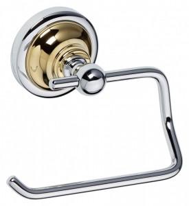 Держатель туалетной бумаги Bemeta Retro 144212028 13.5 x 9 x 10 см, хром/золото