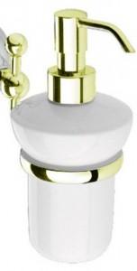 Дозатор мыла Nicolazzi Classica C1489GO, золото