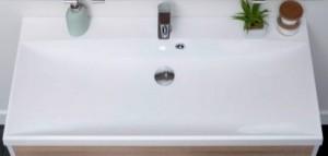 00204117 Раковина Aquanet Нота New 58 58x48 см встраиваемая, цвет белый