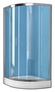 Q-LINETKP80 Душевой уголок Kolpa-San Q-LINE TKP, 80 x 80 х 190 см, стекло прозрачное
