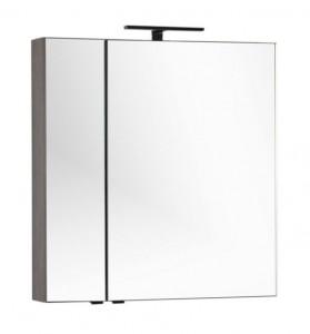 Зеркало-шкаф Aquanet Эвора 80 00182741, цвет дуб антик