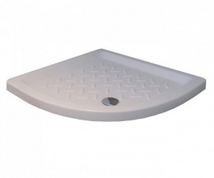 19170499-01 Душевой поддон RGW CR/R-099 90 x 90 см, керамика, четверть круга