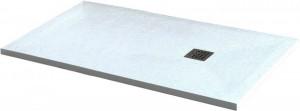 14152817-01 Душевой поддон RGW ST-178W 80 x 170 см, прямоугольный, цвет белый, из искусственного камня