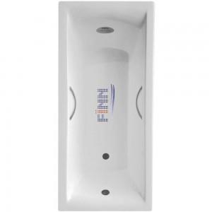 Чугунная ванна Finn Kvadro 150х75 с отверстиями под ручки