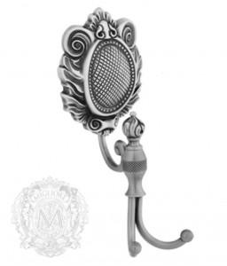 Крючок двойной Migliore Cleopatra ML.CLE-60.709.CR хром