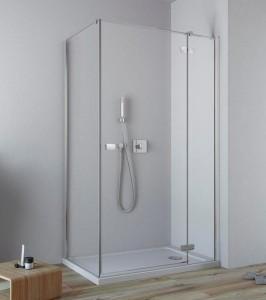 384043-01-01R/384051-01-01 Душевой уголок Radaway Fuenta New KDJ 80 х 80 см, правая дверь
