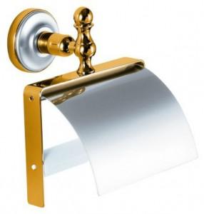 Бумагодержатель Migliore Mirella ML.MRL-M059.CRDO - хром/золото