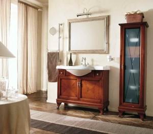 Комплект мебели Labro Legno MARRIOT Composizione M100, вишня/хром, 105 см