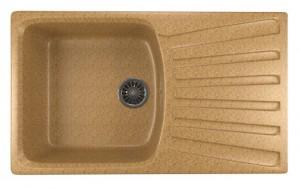 ML-GM20 (302) Кухонная мойка Mixline, врезная сверху, цвет - песочный, 85 х 49.5 х 19 см