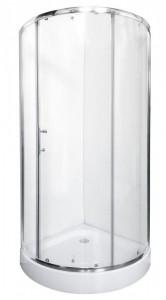 DE-R18080 Душевой уголок Rush Devon 81,7 х 81,7 х 190, стекло прозрачное