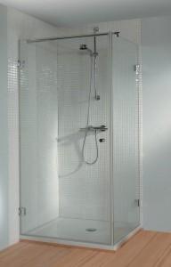 GC25200 Душевой уголок Riho Scandic S-201, 100 х 100 х 200 см, стекло прозрачное