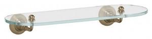 Полка с держателями 3SC Stilmar STI 514 40 см, античная бронза