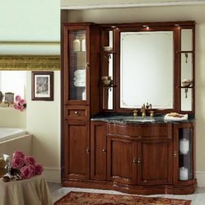 Комплект мебели Eurodesign IL Borgo Композиция № 11, Verde Acqua Gold/Верде аква с золотом