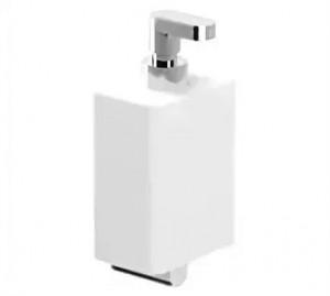 Дозатор жидкого мыла Webert Living LV500201015, белый/хром