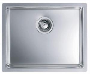 1102606 Мойка кухонная Alveus QUADRIX 50 SAT-90 550 x 450