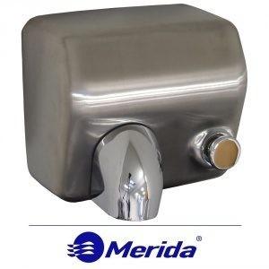 """Сушилка для рук Merida """"STARFLOW"""" матовая, с кнопкой"""