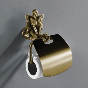 AM-B-0989-B Держатель для туалетной бумаги,бронза