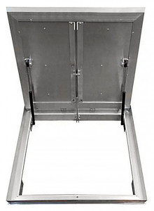 Сантехнический люк напольный Revizor Лифт Стандарт ширина 70, высота 70