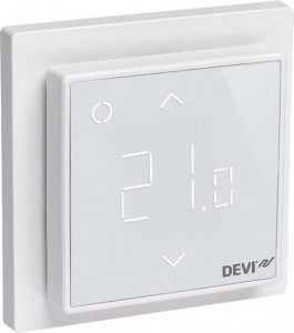 140F1140 Терморегулятор Devi Devireg Smart Wi-Fi polar white