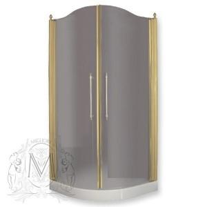 ML.DDM-22.791.TR.DO Душевой уголок Migliore Diadema, 90 х 90 х 185 см, стекло прозрачное