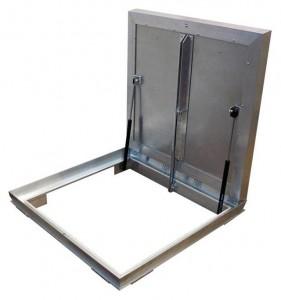 Сантехнический люк напольный Revizor Лифт Стандарт ширина 60, высота 60