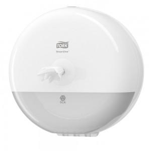 Диспенсер для туалетной бумаги  Tork SmartOne681000,в мини-рулонах, белый