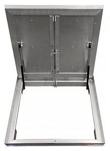 Сантехнический люк напольный Revizor Лифт Стандарт ширина 110, высота 110