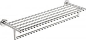 Полка для полотенец Bemeta Neo 104205075 65.5 x 21.5 x 11 cм, хром матовый