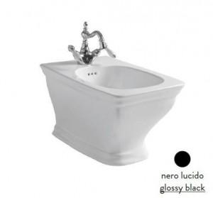 CIB001 03; 00 Биде ArtCeram Civitas, подвесное, цвет - черный глянцевый