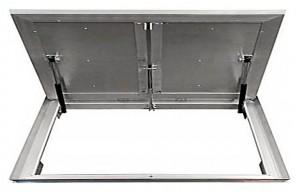 Сантехнический люк напольный Revizor Лифт Стандарт ширина 110, высота 90