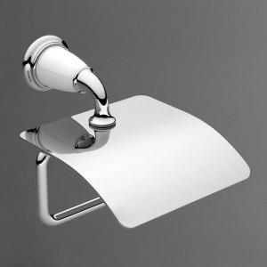 AM-E-3683AW-Br Держатель туалетной бумаги настенный,бронза