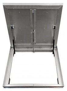 Сантехнический люк напольный Revizor Лифт Стандарт ширина 90, высота 90