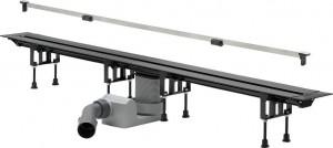 704360 Душевой лоток Viega Advantix Vario, с щелевой вставкой, подрезной (30-120 см)