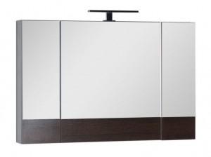Зеркало-шкаф Aquanet Нота 100 (камерино) 00159111, цвет венге