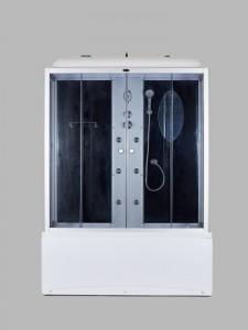 NG-5150-01 Душевая кабина Niagara NG-5150, 150 x 70 см, высокий поддон, тонированное стекло, без бани