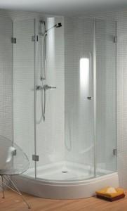 GC46200 Душевой уголок Riho Scandic S-308, 100 х 100 х 200 см, стекло прозрачное